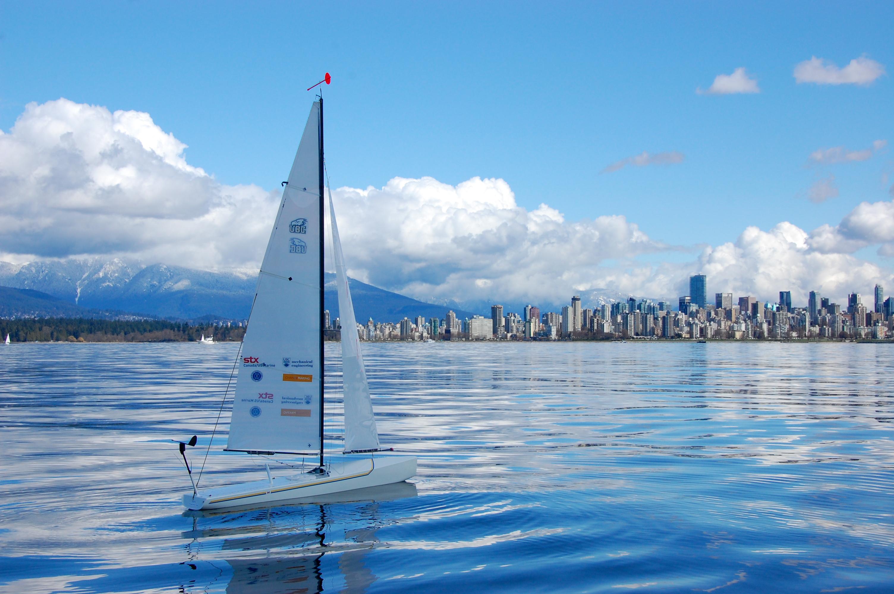 Photo courtesy of the UBC SailBot Team